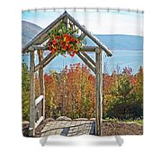 Wedding Gazebo Shower Curtain