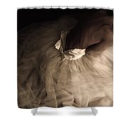 Wedding Jitters Shower Curtain