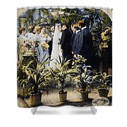 Wedding Party, 1897 Shower Curtain