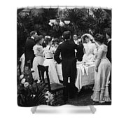 Wedding Party, 1904 Shower Curtain