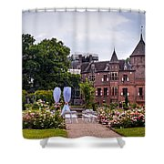Wedding Setting In De Haar Castle. Utrecht Shower Curtain