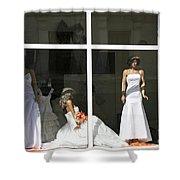 Wedding Shop In Tbilisi Shower Curtain