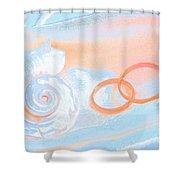 Wedding2 Shower Curtain