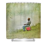 Wednesday Afternoon Shower Curtain
