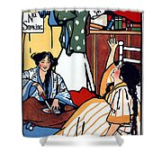 Wee Sma Hours 1909 Shower Curtain