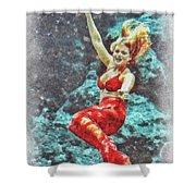 Weeki Wachee Mermaid Shower Curtain