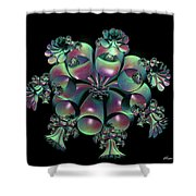 Weeping Bells Shower Curtain
