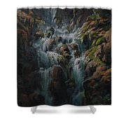 Weeping Rocks Shower Curtain