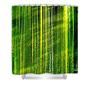 Weeping Willow Tree Ribbons Shower Curtain