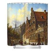 Weeshuis In Leiden Shower Curtain