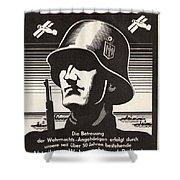 Wehrmacht Shower Curtain