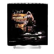 Weird Live Piano Shower Curtain by Stwayne Keubrick