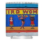Weird Women Shower Curtain