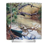Wekiva Autumn Shower Curtain