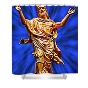 Welcome 5 Shower Curtain