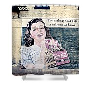 Welcome At Home Shower Curtain