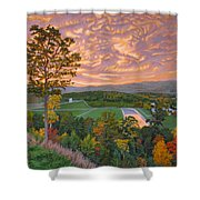 Welcome Center Shower Curtain