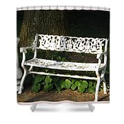 Welcome Invitation Shower Curtain