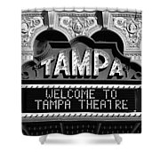Welcome Tampa Shower Curtain