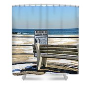 Welcome To Asbury Park Shower Curtain