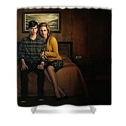 Welcome To Bates Motel Shower Curtain