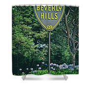 Welcome To Beverly Hills Shower Curtain