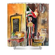 Welcome To Italy 07 Shower Curtain