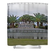 Welcome To Jekyll Island Shower Curtain