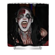 Welcome To My Horror House Shower Curtain