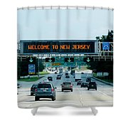 Welcome To New Jersey Shower Curtain