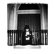 Welcome To Night In New Orleans  Shower Curtain