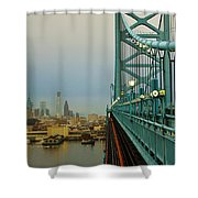Welcome To Philly Shower Curtain