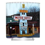 Welcome Travelers Shower Curtain