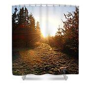 Welcoming Dawn Shower Curtain