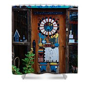 Welcoming Entrada In Taos Shower Curtain