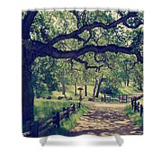 Welcoming Shower Curtain