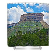 Welcoming Mesa To Mesa Verde National Park-colorado- Shower Curtain