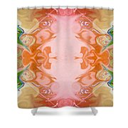 Welcoming New Life Abstract Healing Artwork By Omaste Witkowski Shower Curtain