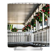 Welcoming Porch Shower Curtain