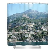 Welcoming Positano Shower Curtain
