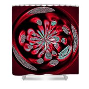 Welding Rods Abstract 6 Shower Curtain