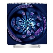Welding Rods Abstract 7 Shower Curtain