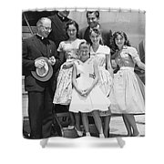 Welk And The Lennon Sisters Shower Curtain
