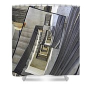 Well Of Stairs Shower Curtain