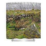 Well Of The Dead Shower Curtain