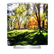 Well Traveled Path Shower Curtain