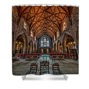Welsh Cathedral  Shower Curtain