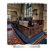Welsh Chapel Shower Curtain