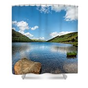 Welsh Lake Shower Curtain