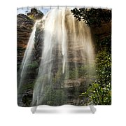 Wentworth Waterfall Blue Mountains Shower Curtain